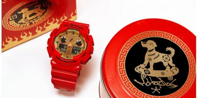 G-Shock狗年红金限量款腕表 | 骚破天际