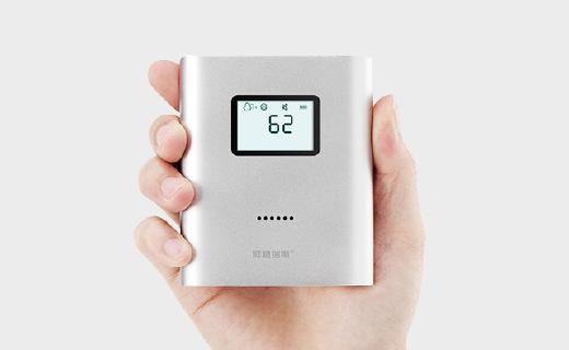 小巧便携的PM2.5检测仪,居然还能当移动电源用