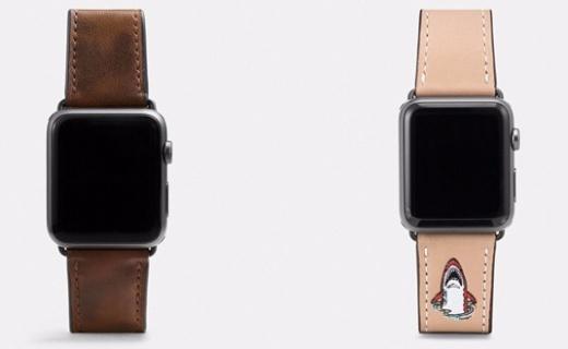 COACH发新款Apple Watch表带,逼格瞬间提升