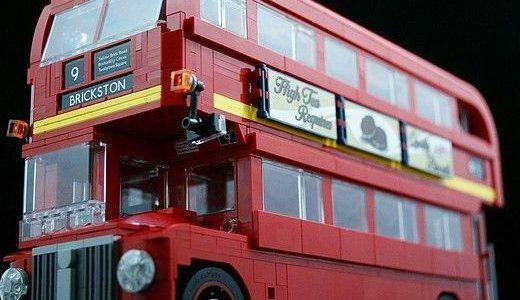 乐高伦敦巴士:造型经典拉风,颇具收藏价值