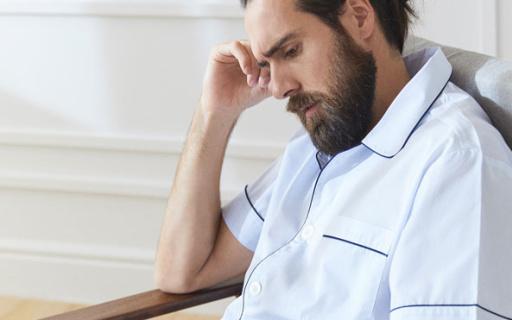 Zara Home衬衫式睡衣裤:版型立体,睡衣穿出型男范