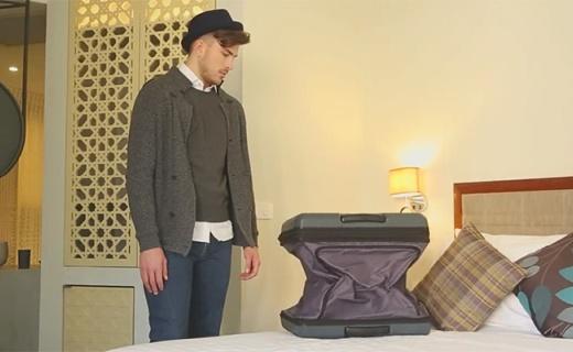 会变身的旅行箱,再也不担心没容量