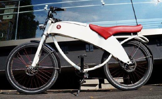 续航97公里造型亮瞎眼,电动自行车还能这么酷!
