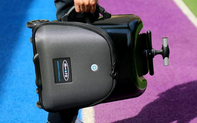 变形金刚一样的存在,便捷出行的终极解决方案,micro米高懒人行李箱体验