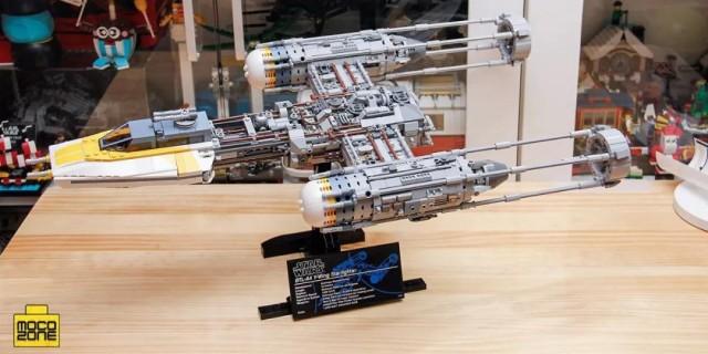 星球大战 UCS Y翼星际战斗机拼装测评,星战粉、乐高控必看