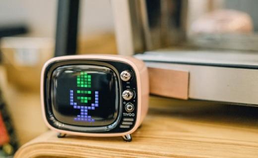 音箱也能用来聊天打游戏?Tivoo让你大开眼界 — Divoom Tivoo像素蓝牙音箱体验