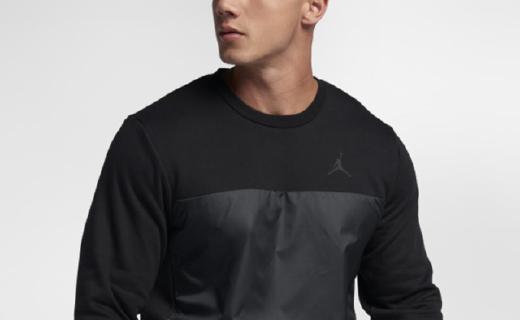 耐克AS AJ11男子卫衣 :面料柔和细腻亲肤有型,经典圆领设计时尚百搭