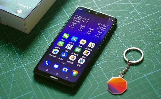 性能强劲拍照锐利,千元机中的佼佼者,诺基亚 Nokia X5评测