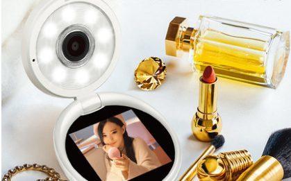 CASIO美颜相机:化妆盒设计精美独特,美颜自然清透