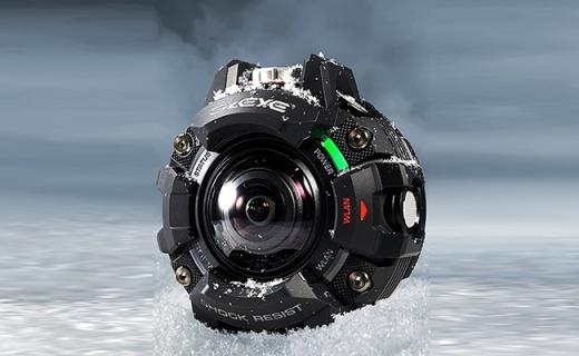 放大版的G-shock?卡西欧发布户外相机GZE-1