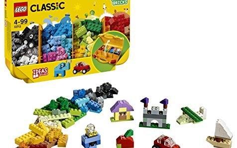 乐高 Classic创意手提箱:经典创意多重玩法,自由拼搭启蒙创意