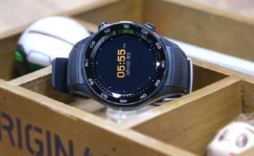 华为WATCH 2智能手表:双定位系统追踪精准,刷卡支付统统搞定