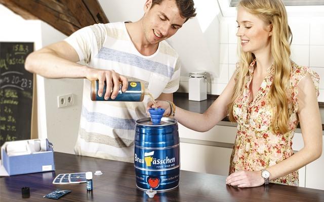 德国堡菲鲜DIY自酿啤酒套装