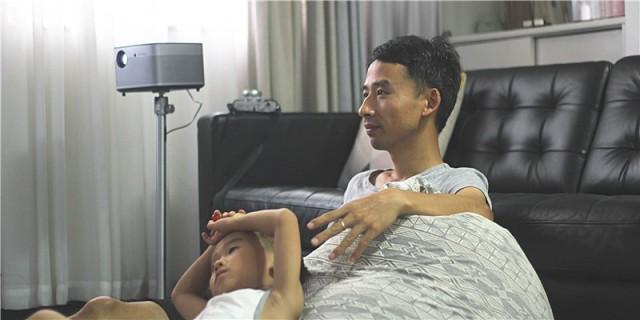 极米无屏电视H2体验,让家充满更有品质的仪式感