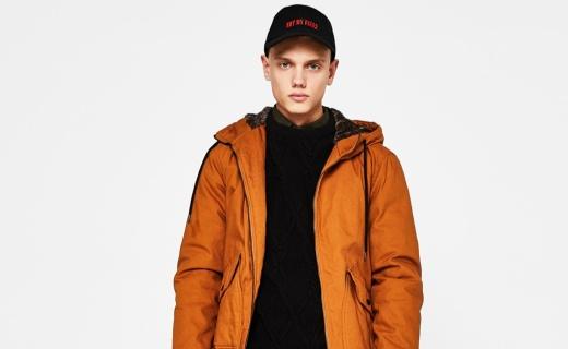 Bershka男士 连帽飞行员夹克:面料柔和舒适亲肤性强,时尚配色简约百搭