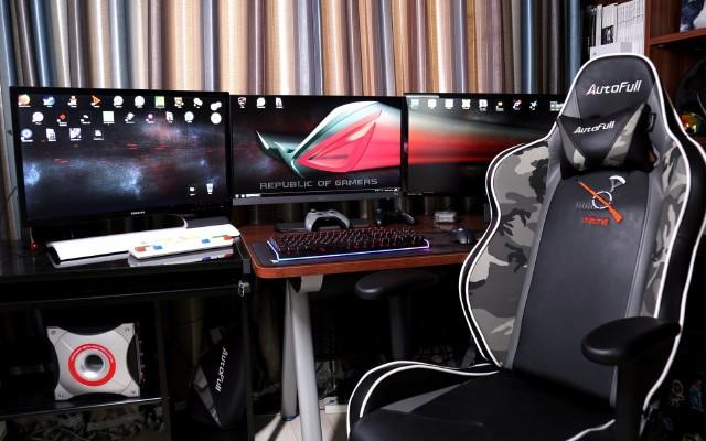 明基 EW277 HDR显示器三联屏爽玩游戏体验