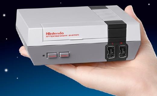 任天堂出新款 NES 了!30款游戏满满都是情怀