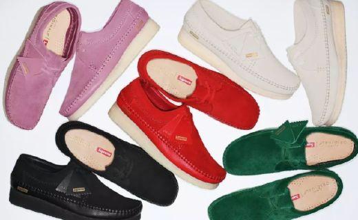 Supreme×Clarks奇葩新品,彩色大叔鞋了解一下