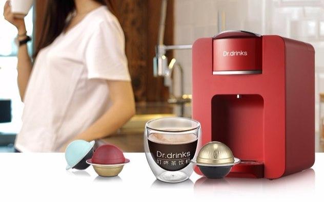 Dr.drinks 叮咚茶饮机胶囊咖啡机