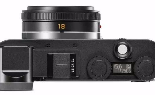 徕卡发布新款CL APS-C画幅无反相机,造型复古