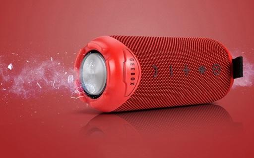 红点设计大奖加持的GEEBOX M2音箱,30米防水