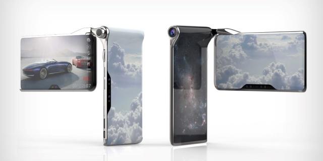 图灵工业再作妖!推出双屏折叠手机,大概来自外星吧?
