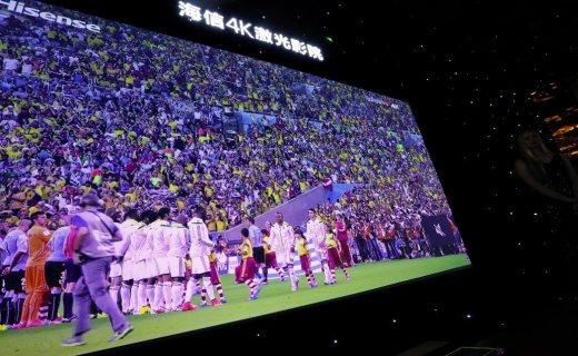 海信 S6 150吋激光电视:居家观影,震撼视听