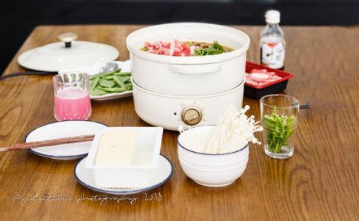Bruno日本多功能煮食鍋評測,集顏值于實力于一身
