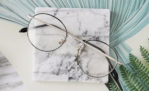 网易严选眼镜架:金属质感超薄设计,你与学者只差一副眼镜