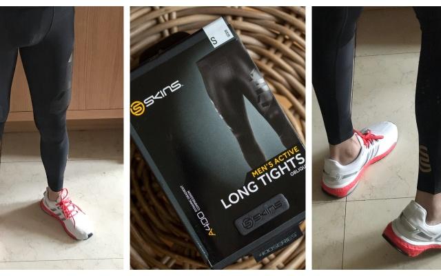 跑得快更要保证健康--SKINS思金斯A400压缩裤体验
