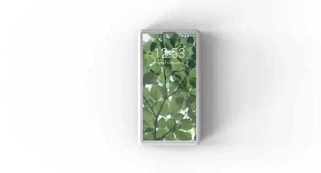 世界上最小全面屏手机,极简设计仅名片大小