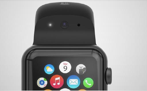 自带摄像头的表带,专为Apple Watch打造