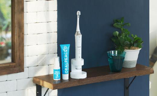 能悬浮充电的松下黑科技牙刷,离子去垢更彻底
