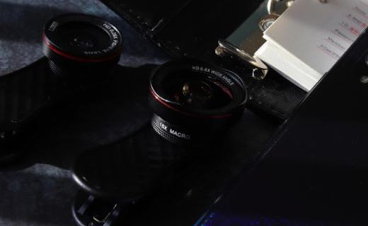 猎奇LQ-048手机镜头:三合一带来一乘三的乐趣