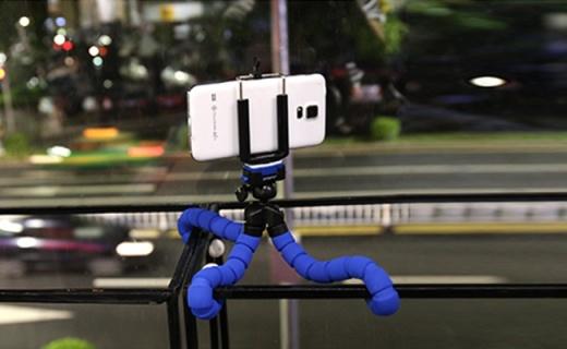 富图宝RM-100相机支架:手机相机都能固定,球形云台多角度可调