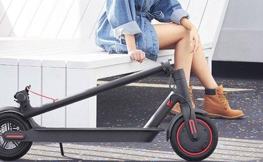 45公里长续航!小米发布米家电动滑板车Pro,售价2799