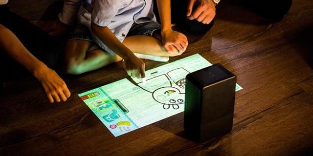 puppy cube触控投影仪评测,让世界万物秒变触摸屏