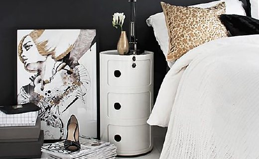 Kartell储物柜:经典北欧风格美观大方,小体积实用收纳