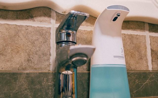 杜绝2次污染,小吉感应洗手机让你解放双手