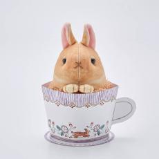 Polar Bear  茶杯兔摆件灰尘扫除清洁毛球