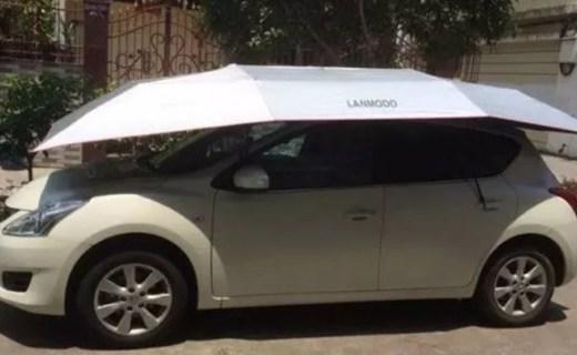 Lanmodo遥控汽车帐篷:给你的汽车安个家吧