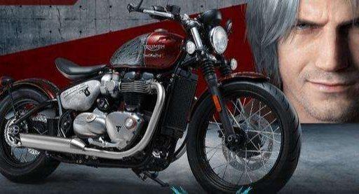 超硬核周边!卡普空联合Triumph推出《鬼泣》限定摩托