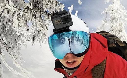 HERO6Black摄像机:4K高清画质拍摄,防水声控多功能