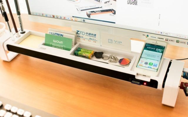 办公桌面收纳神器,再也不担心桌面杂乱无章 | 视频