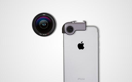 蔡司新款iPhone 7外置鏡頭,不失真的好鏡頭