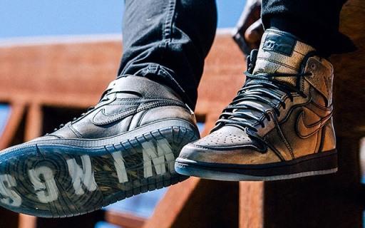 青铜感爆表!限量不到2万双的耐克Air Jordan 1