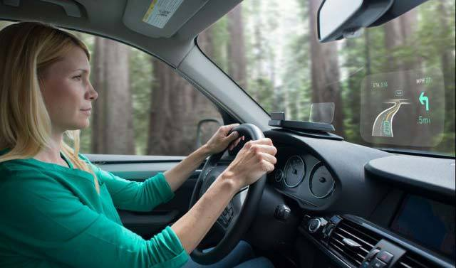 """给你的爱车戴上""""Google Glass""""-Navdy HUD"""