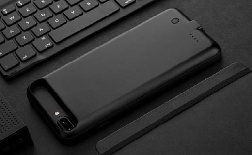 洛克充电手机壳:防火安全材质,充电保护二合一