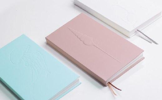 一本自然甲虫笔记本:纯色文艺外观,百页纸张不同图案