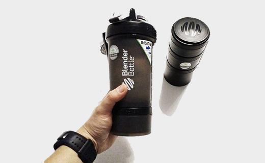 Blender Bottle摇摇杯:可装蛋白粉,永不生锈密封耐用